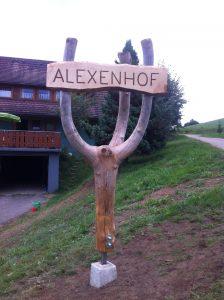 Umbau auf dem Alexenhof