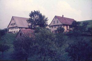 Alexenhof Ende der 1960er Jahre