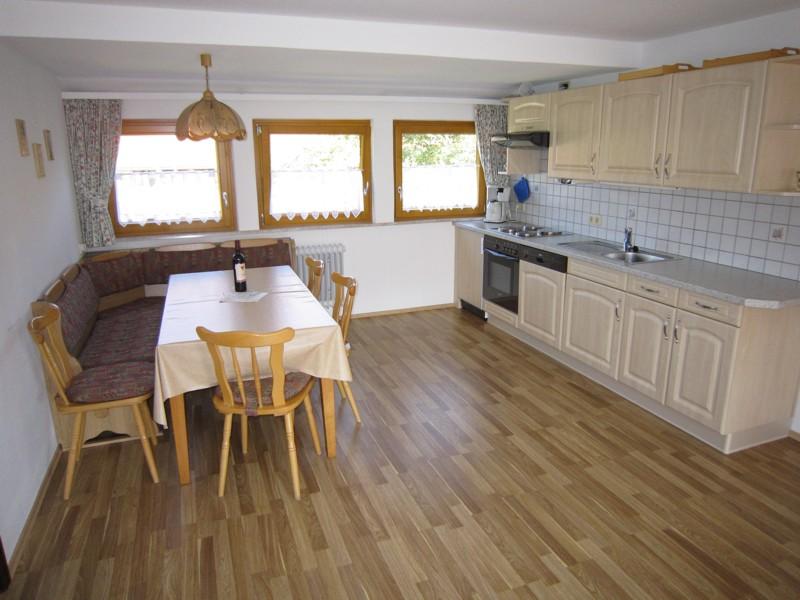 Küchenzeile in Ferienwohnung 2