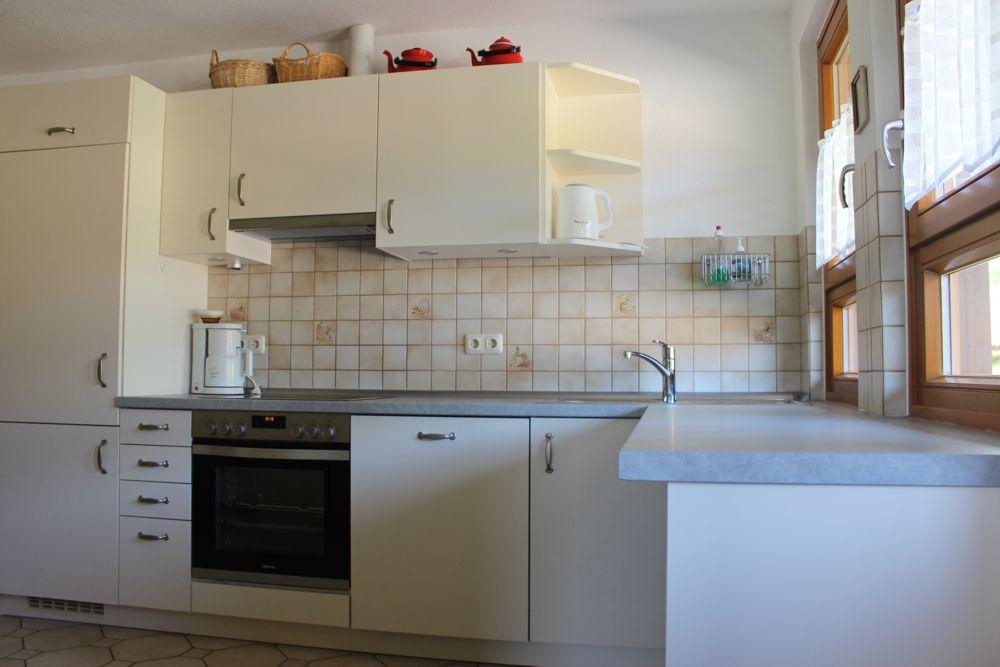 Küchenzeile Ferienwohnung 1